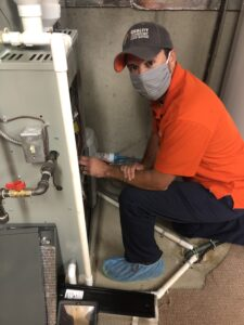 ryan furnace repair COVID safety PPE