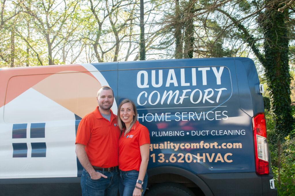 Quality Comfort Ryan and Erin Osterkamp